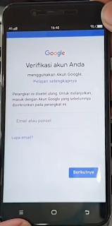 Remove FRP Vivo Y71 Lupa Akun Google