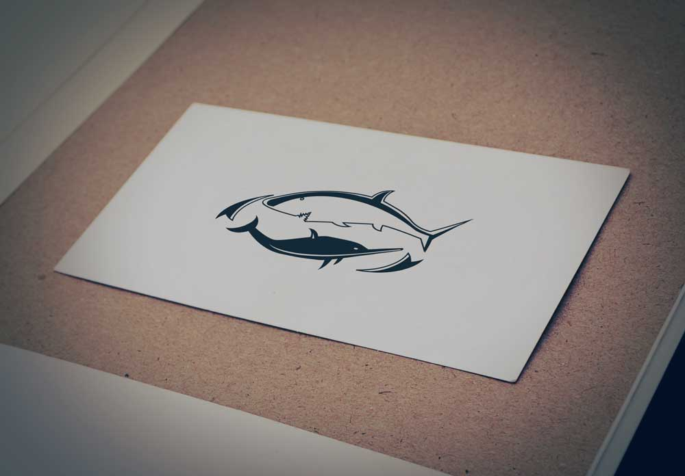 Download Free Shark and Dolphin Logo for Business