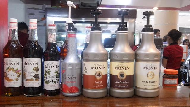sweet solutions coffee, monin,