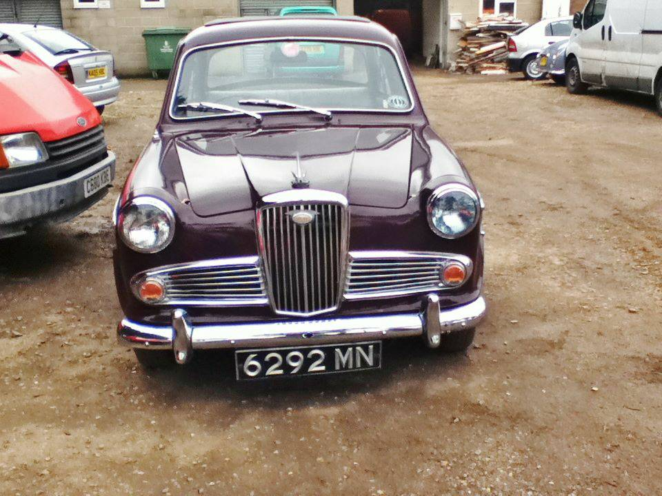 Just A Car Geek: 1962 Wolseley 1500 - Think Positive