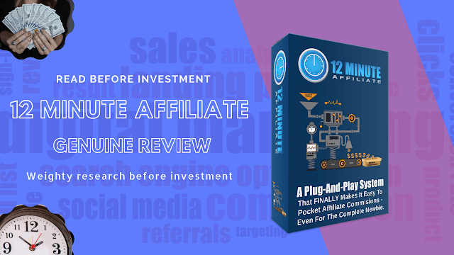 12 Minute Affiliate System  Cheap For Sale Under 200