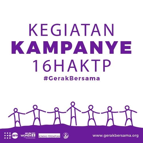 Gerak Bersama Kampanye 16 Hari