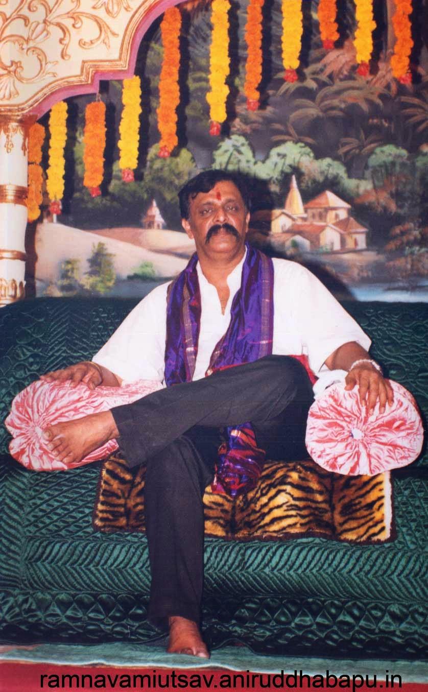 Aniruddha bapu at ram navami 2003