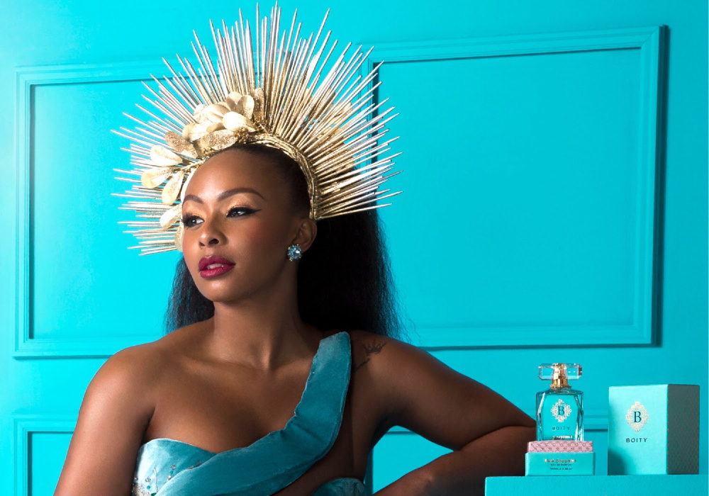 Boity Launches Her Own Fragrance Boity Pink Sapphire Eau de Parfum #BoityPinkSapphire
