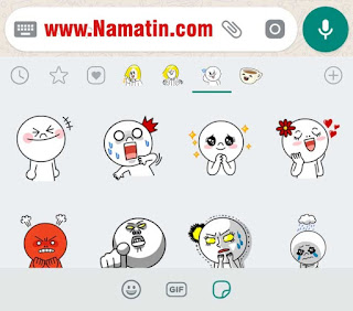 Download Sticker Pack  Line Moon di WA APK