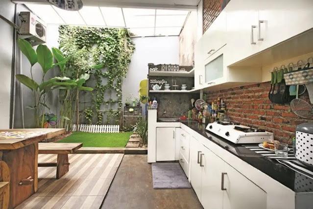 Desain Rumah Minimalis Type 36 dengan Konsep Dapur Terbuka
