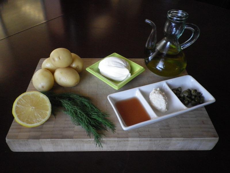 Five Senses Cooking Recipes Jamie Olivers Potato Salad