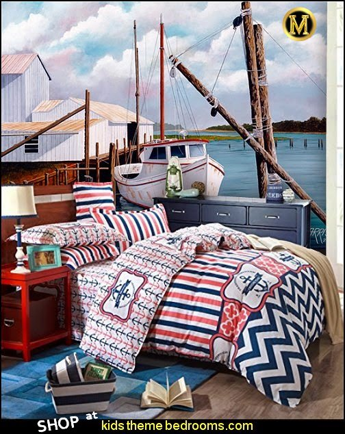 nautical bedding nautical boats wallpaper murals nautical home decor