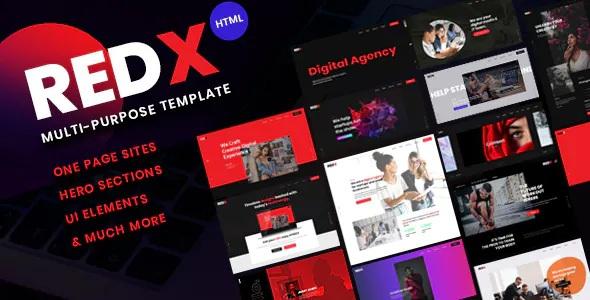Best Multipurpose HTML Site Template