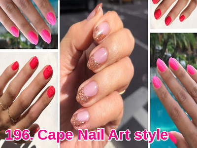 Cape Nail Art style