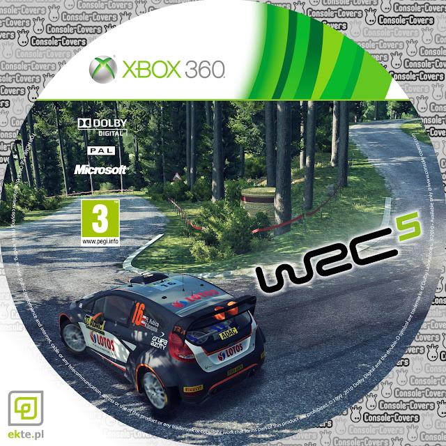 Label WRC 5 Xbox 360