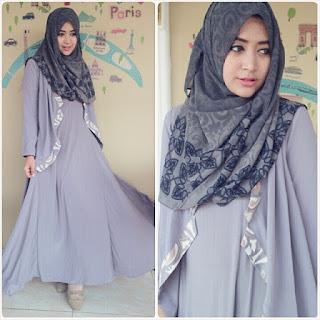 Contoh Model Busana Hijab Natahsa Farani Terbaru