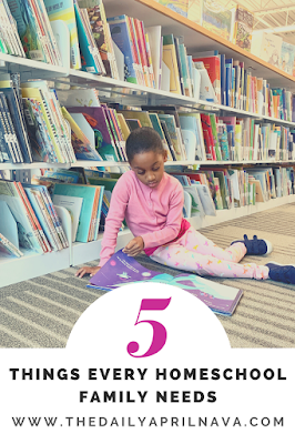 5 Things Every Homeschool Family Needs