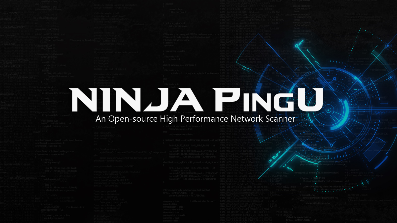NINJA PingU - An Open-source High Performance Network Scanner