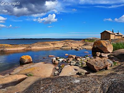 isole aland finlandia klobben