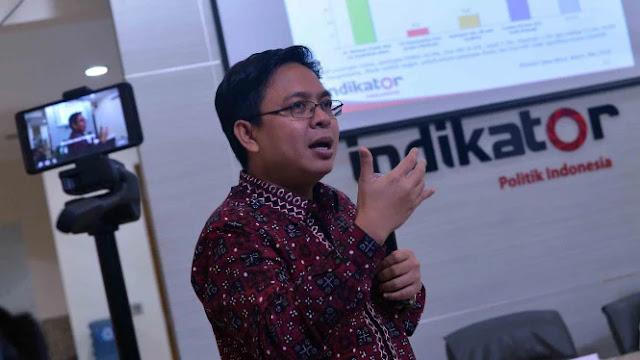 Survei Indikator Politik, Trend Kepuasan Rakyat ke Jokowi Turun