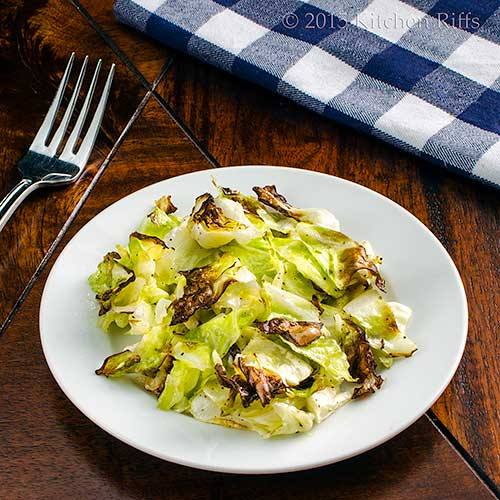 Easy and Tasty Roast Cabbage