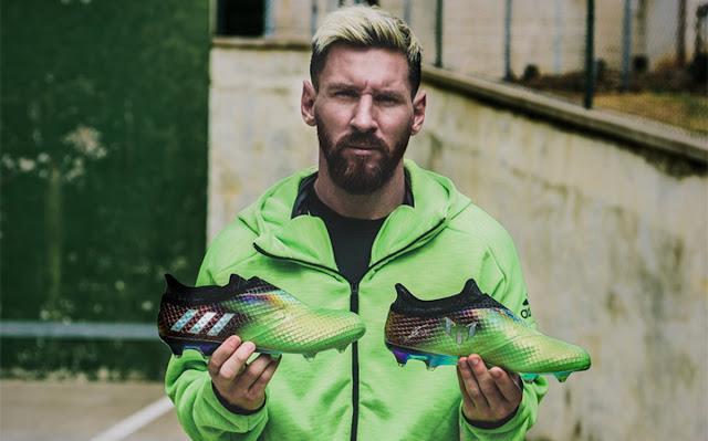 adidas rinde homenaje a Messi con sus nuevas botas