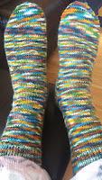 Mrs U Makes...March Socks
