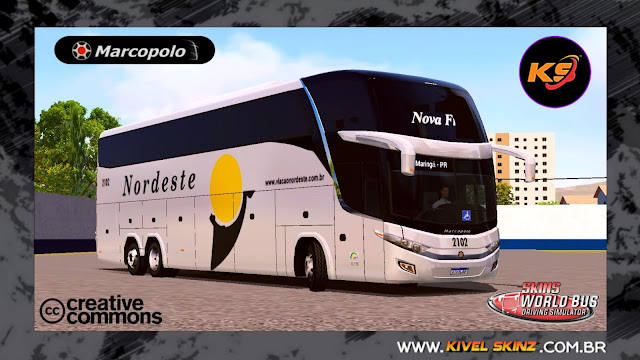 PARADISO G7 1600 LD - VIAÇÃO NORDESTE (NOVA FROTA)