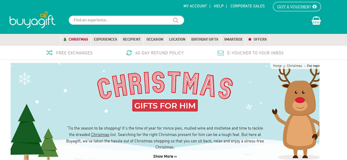 Gift Vouchers from BuyAGift