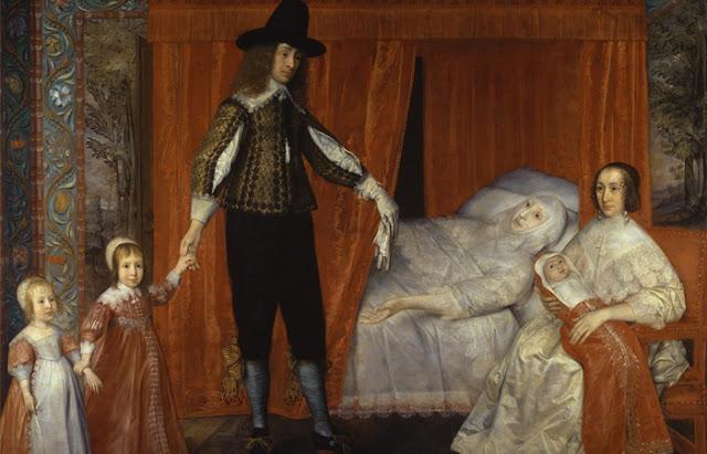 """Pintura de David des Granges """"A família Saltonstall"""""""