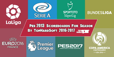 Pes 2013 Scoreboard For Season 2016-2017 By TopHardSoft
