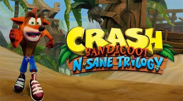 رسميا لعبة Crash Bandicoot N. Sane Trilogy قادمة لأجهزة البي سي و إكسبوكس ون في هذا الموعد ...