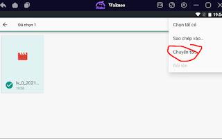 Wakuoo hướng dẫn lấy và nhập video
