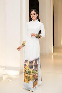 Dàn hoa hậu tôn dáng với áo dài nữ sinh