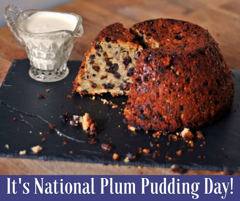 National Plum Pudding Day Wishes Unique Image