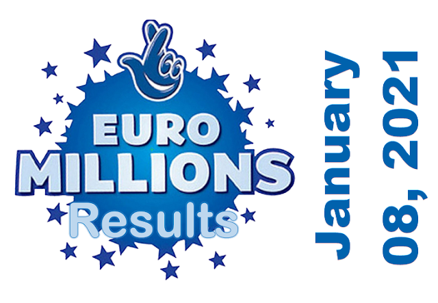 EuroMillions Results for Friday, January 08, 2021