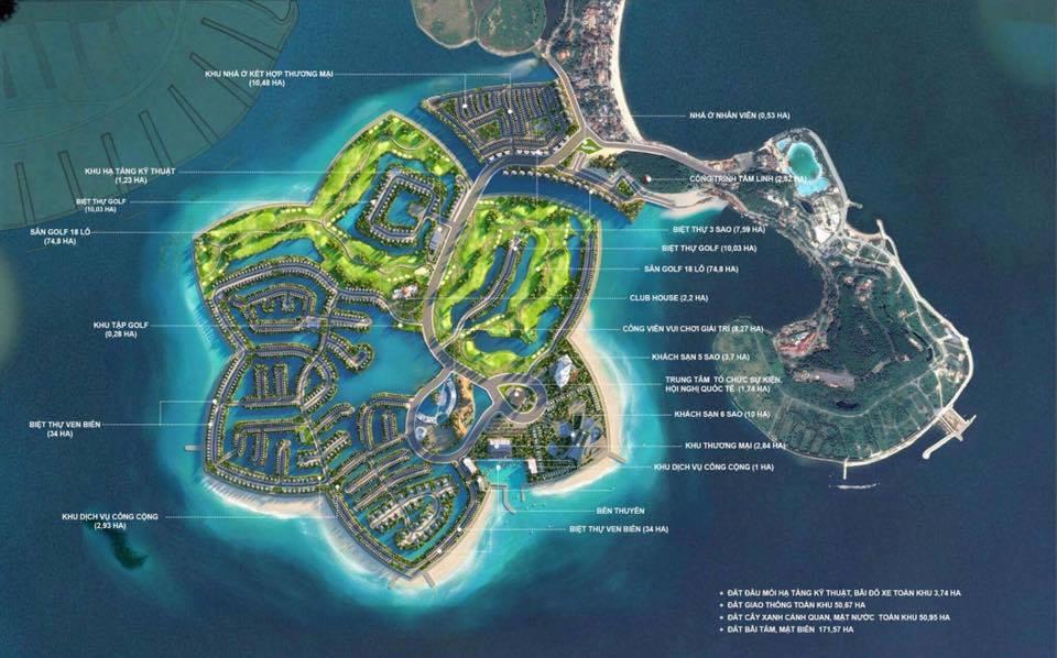 Vị trí dự án FLC Hải Phòng