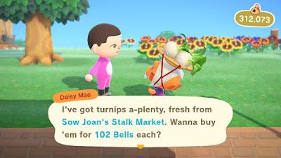 Buying Turnips On Animal Crossing