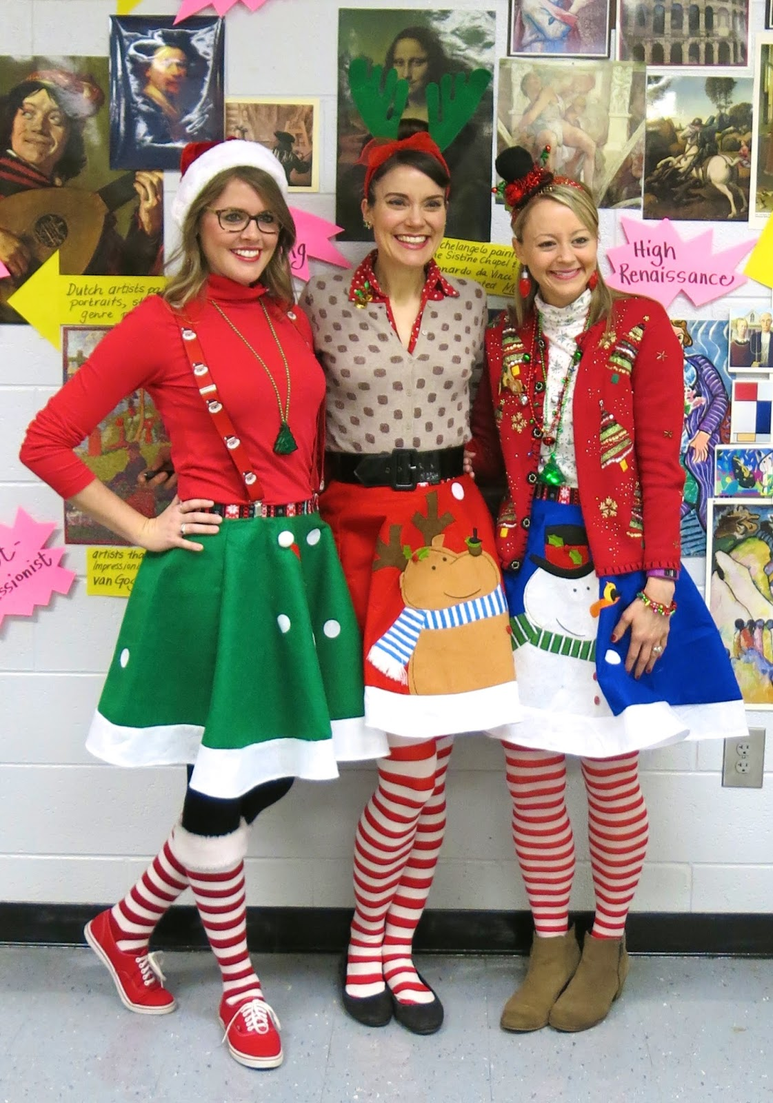 Cassie stephens tacky christmas outfit saturday december 19 2015 solutioingenieria Gallery