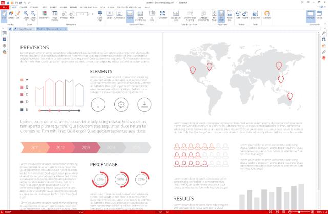 إضافة العلامات المائية على PDF
