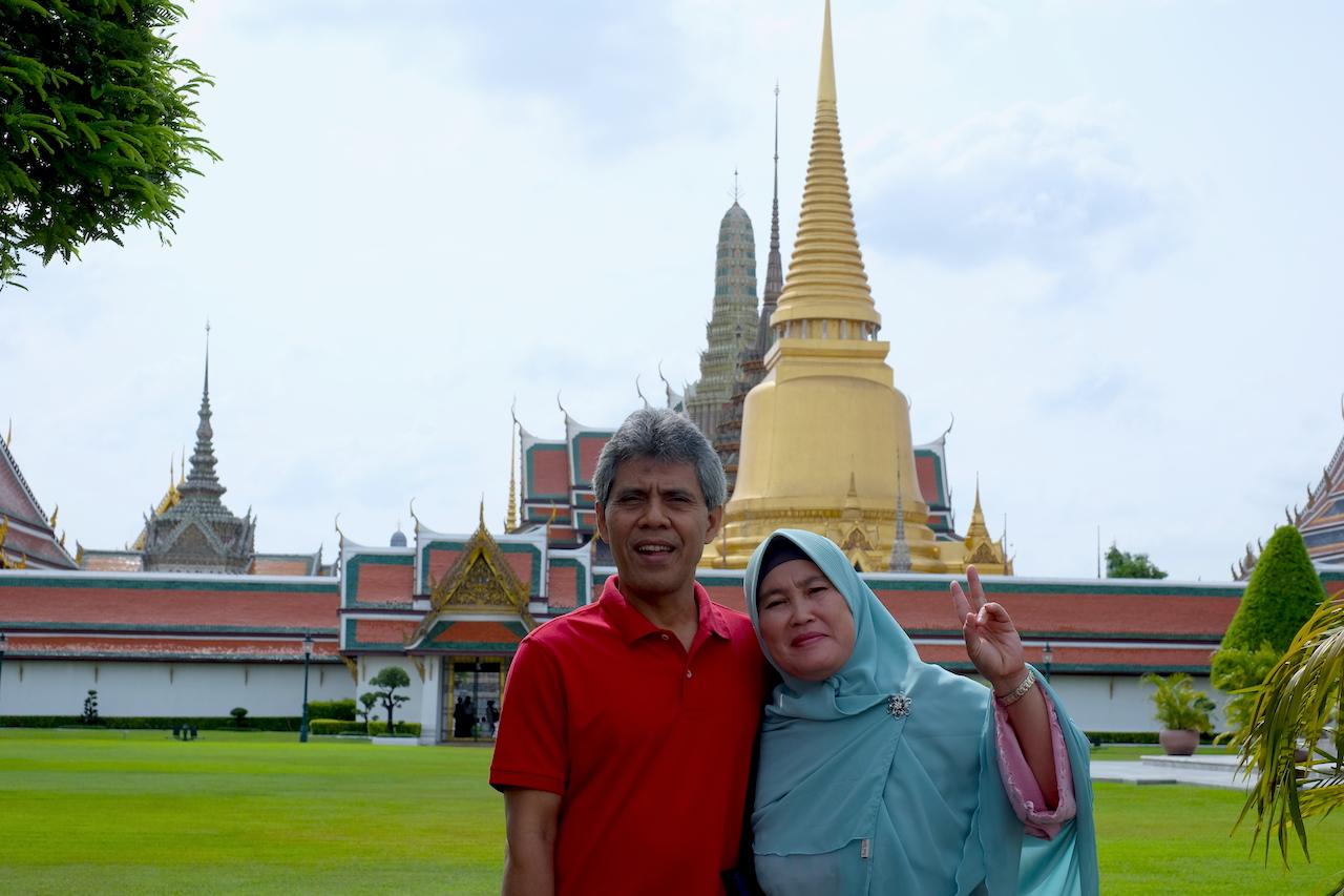 Ayah Mama di Grand Palace, Bangkok, Thailand