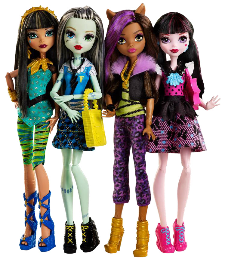 Jamies Toy Blog Monster High dolls reboot  NEW LOOK