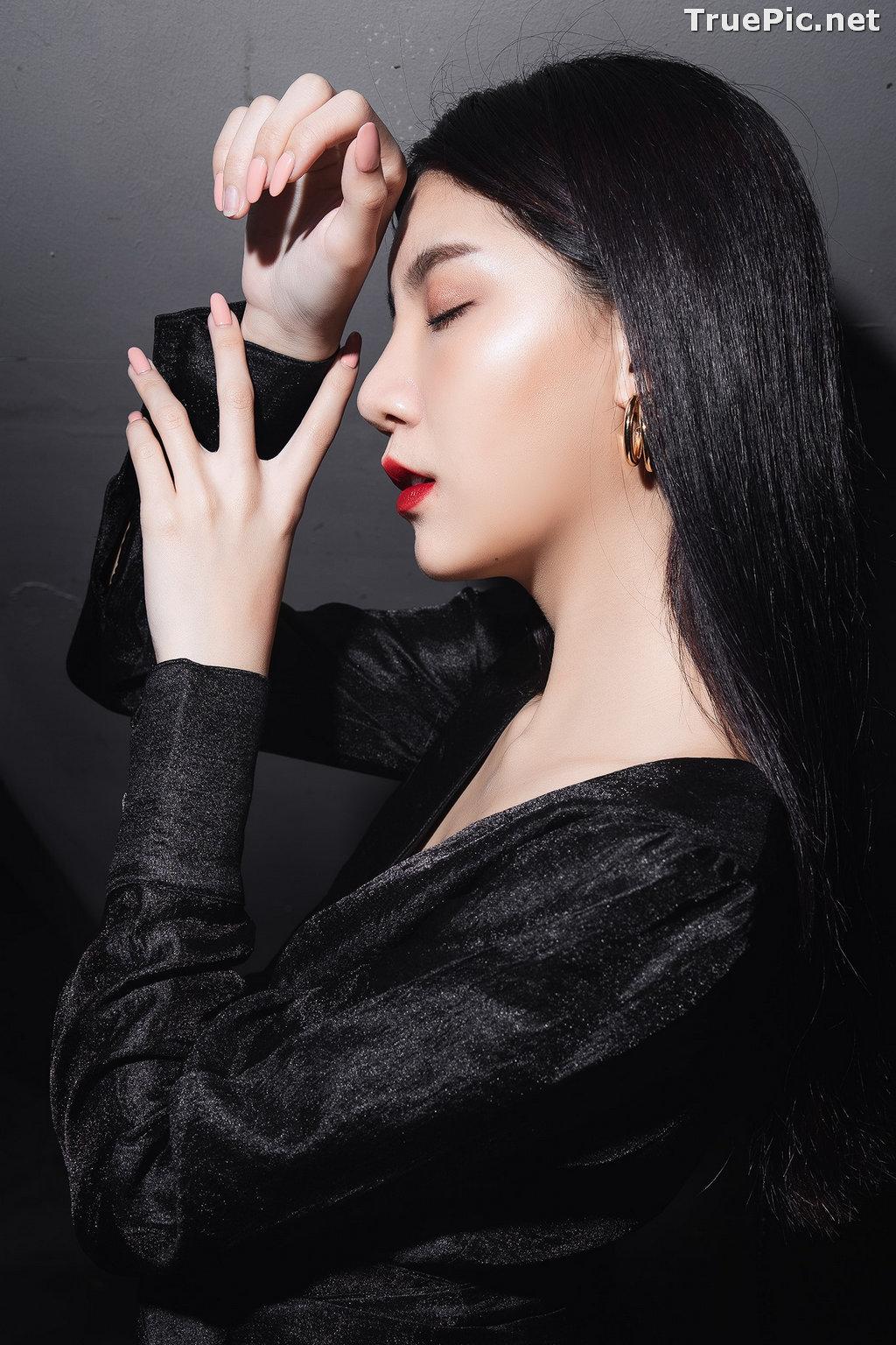 Image Thailand Model - Sasi Ngiunwan - Black For SiamNight - TruePic.net - Picture-14