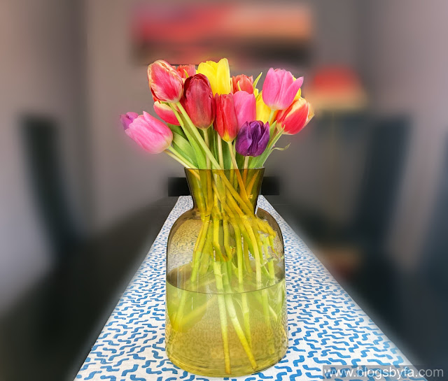 Mothers Day flowers from Moonpig