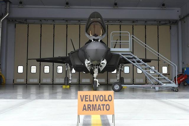 F-35 JSF Amendola difesa aerea