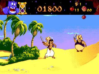 Videojuego Aladdin