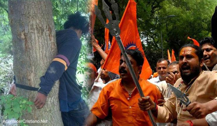 Radicales hindúes atacan pastor en la India