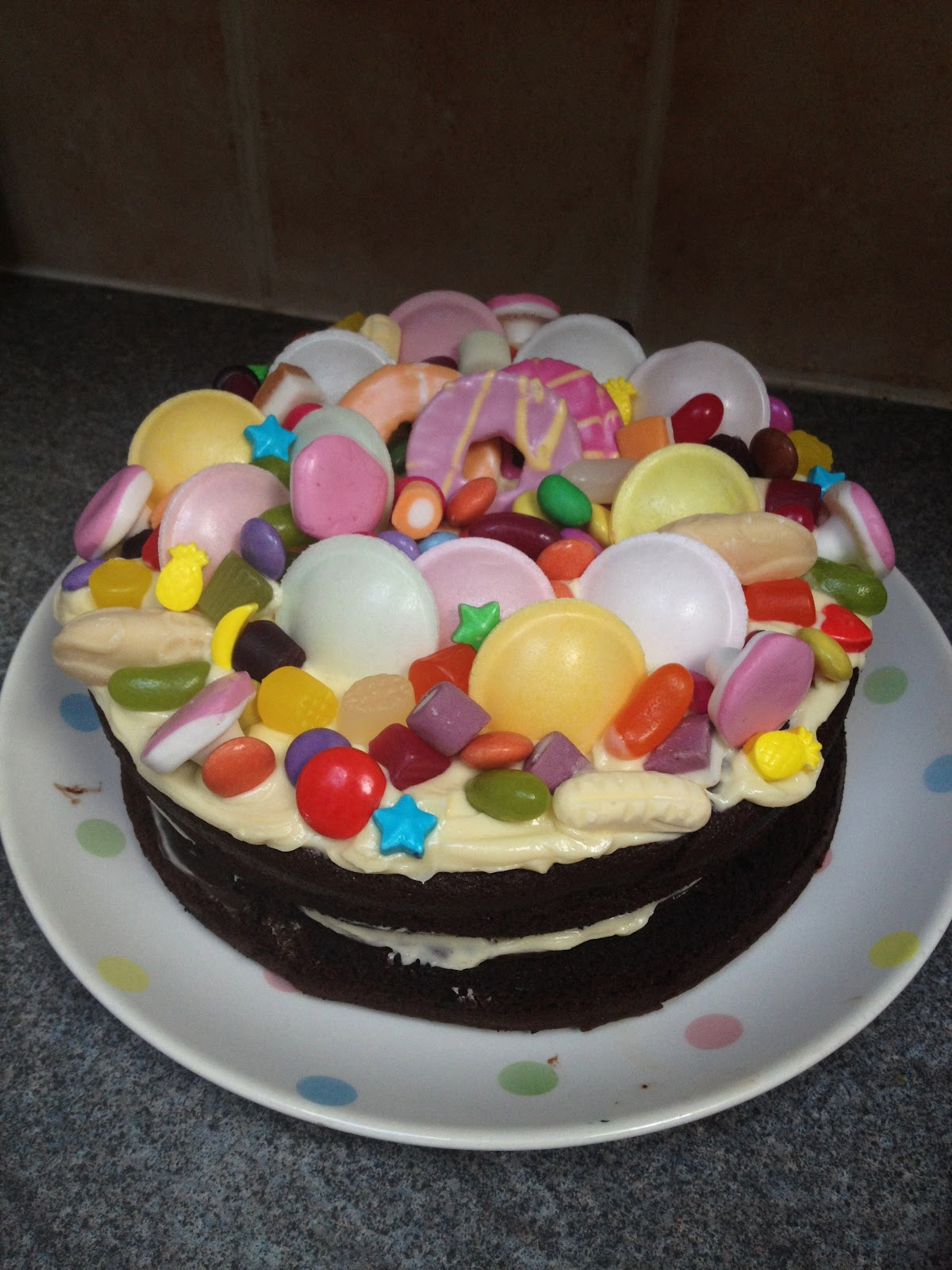 Wheats And Sweets Double Chocolate Sweetie Cake