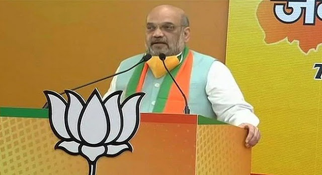 Amit Shah virtual campaign cost 144 crore rupees 72 thousand LEDs were installed