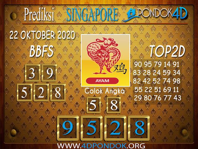 Prediksi Togel SINGAPORE PONDOK4D 22 OKTOBER 2020