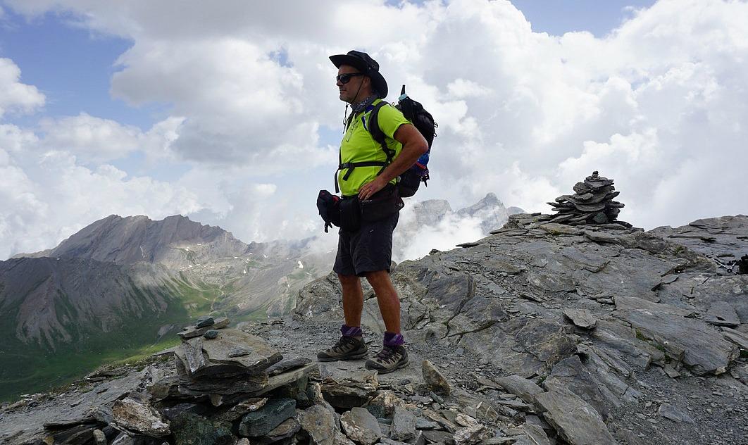 Summit of Pic de Caramantran 3025 m