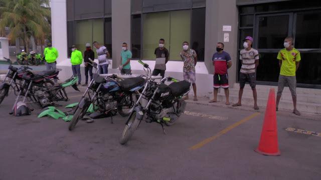 hoyennoticia.com, Desarticulan banda criminal en la comuna 10 de Riohacha