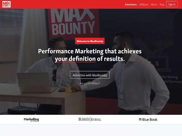 MaxBounty Affiliate Network