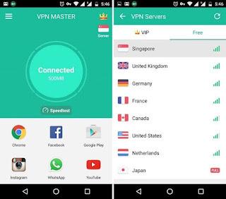 Aplikasi VPN Membuka Situs yang Diblokir Ponsel ANdroid